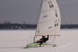 Winterimpressionen vom Kulkwitzer See