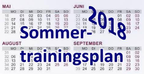 Sommertrainingsplan-2018